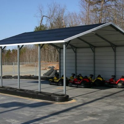 Boxed Eave Horizontal Roof Carport