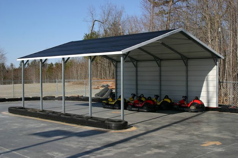 Boxed Eave Horizontal Roof Carport