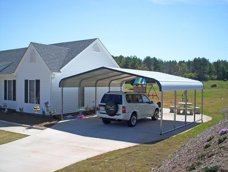 Regular Roof Style Carport
