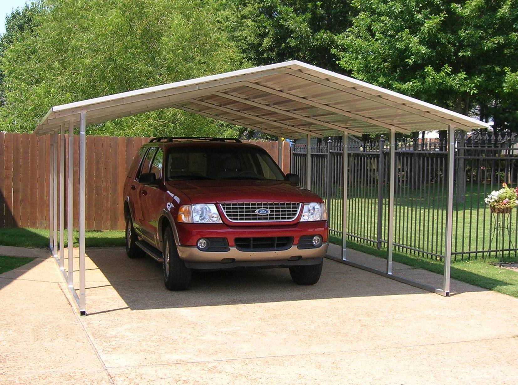 steel carport kits metal carport kits 595. Black Bedroom Furniture Sets. Home Design Ideas