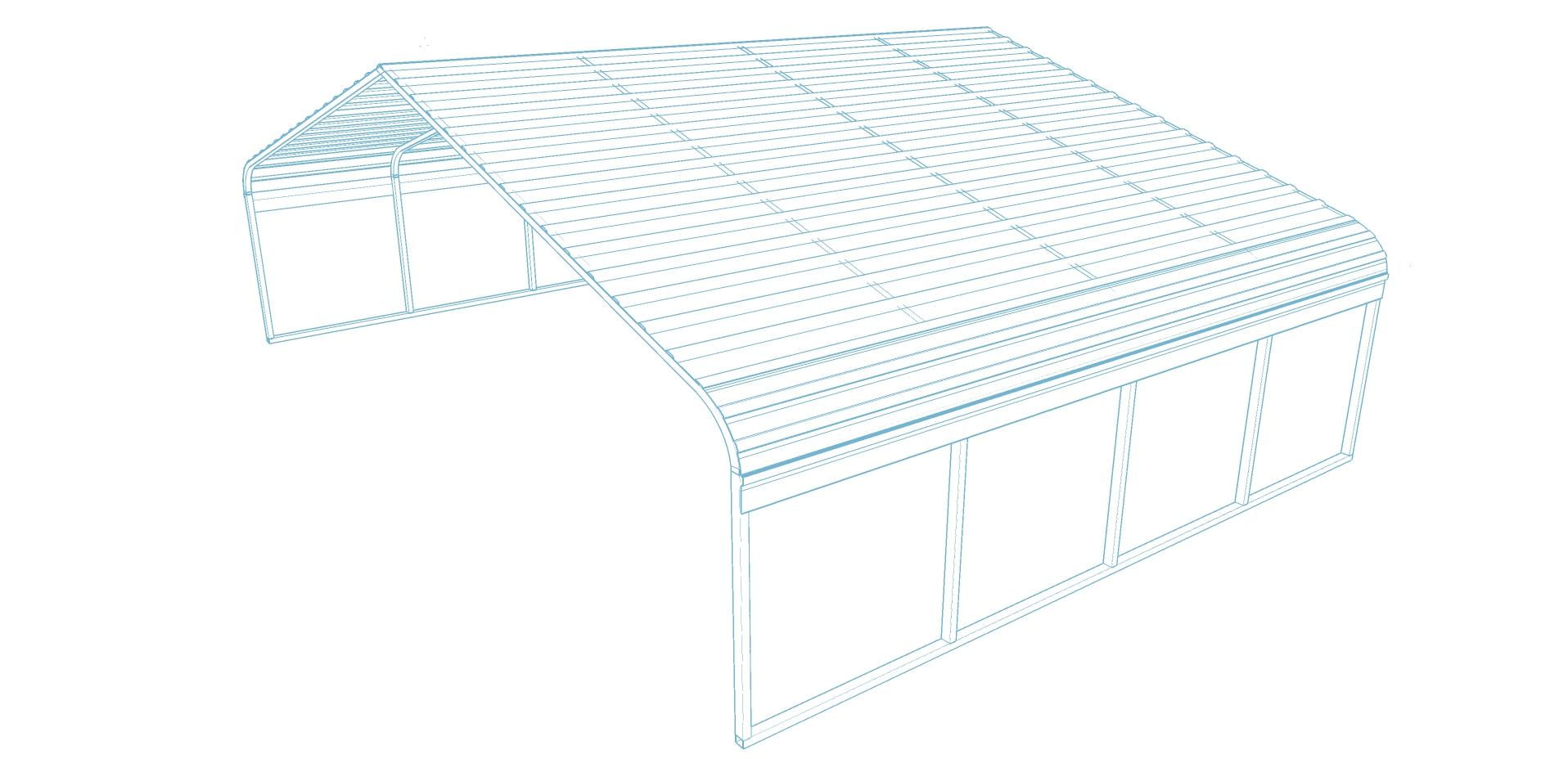 Carport Regular Roof