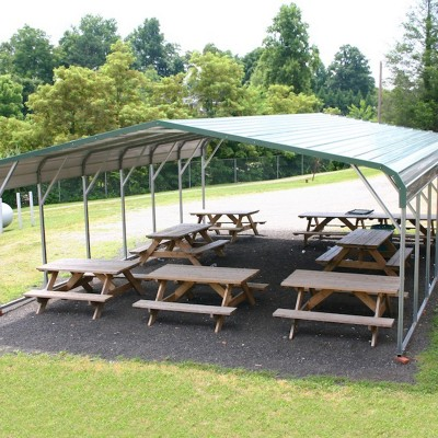 Picnic Carport Combo Regular Roof Style
