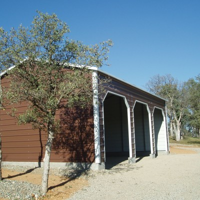 Carport 3 Wide Garage
