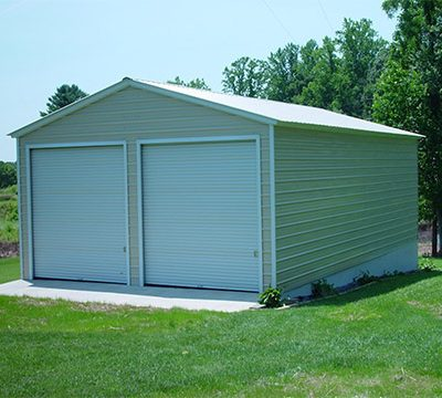Garage On Slow Concrete Slab