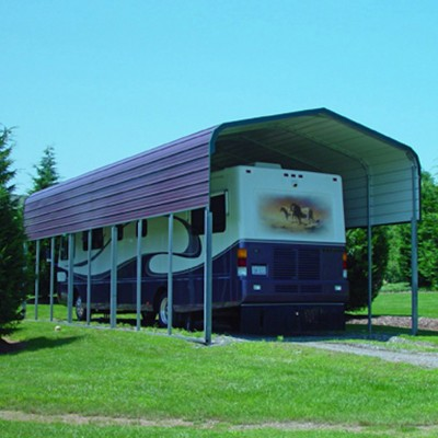 Tall and Long RV Carport