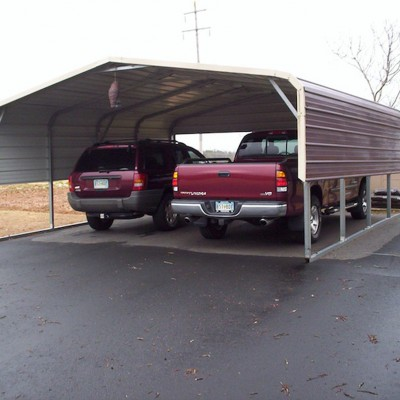 Double Wide Carport