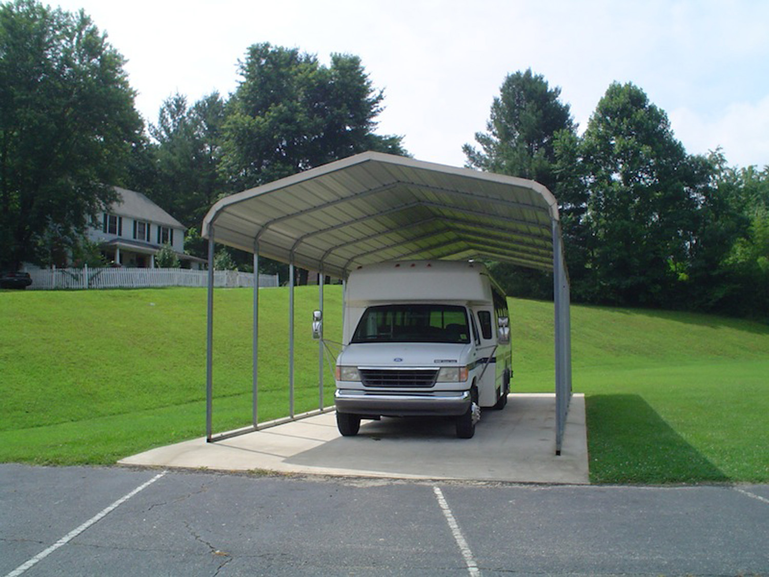 Regular Carport RV Roof