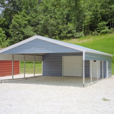 Pictures of carports garages for Garage and carport combination