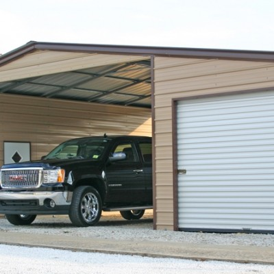 Carport With Garage Attached