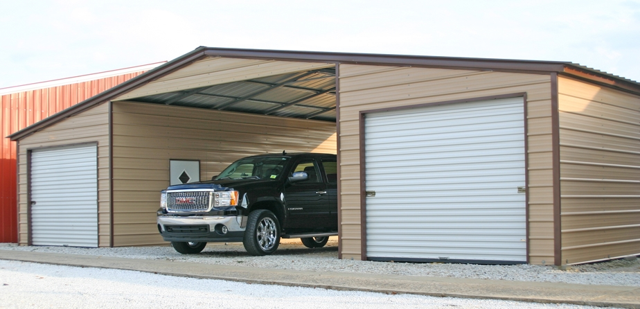 Steel Carport Kits / Metal Carport Kits $595